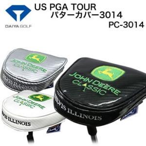 ダイヤコーポレーション US PGA TOUR パターカバー3014 マレットタイプ PC-3014 2017年モデル|morita-golf
