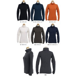エドウィン サムシング レディース ボディファイア 長袖タートルネックシャツ 905381 秋冬モデル morita-golf 03