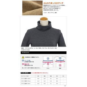 エドウィン サムシング レディース ボディファイア 長袖タートルネックシャツ 905381 秋冬モデル morita-golf 04