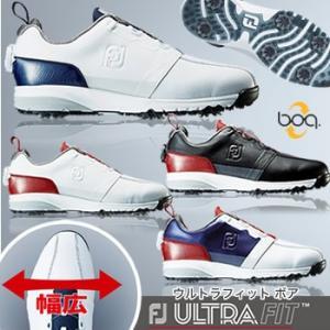 フットジョイ FootJoy ウルトラフィット ボア ULTRA FIT Boa ソフトスパイク ゴルフシューズ 2017年日本正規品|morita-golf