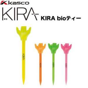 キャスコ KIRA bioティー(4本+ティーホルダー)|morita-golf