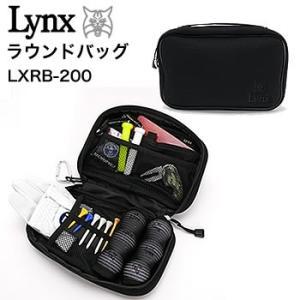 リンクス LYNX ラウンドバッグ LXRB-200 2017年継続モデル|morita-golf