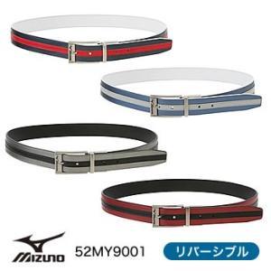 ミズノ MIZUNO リバーシブルベルト 52MY9001 2019年モデル|morita-golf