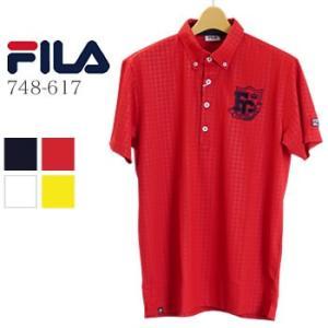 フィラゴルフ FILAGOLF 半袖ポロシャツ 748-617 2018年春夏モデル|morita-golf