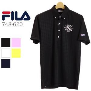 フィラゴルフ FILAGOLF 半袖ポロシャツ 748-620 2018年春夏モデル|morita-golf