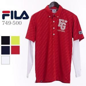フィラゴルフ FILAGOLF エンボスシャツ インナーセット 749-500 2019年春夏モデル|morita-golf