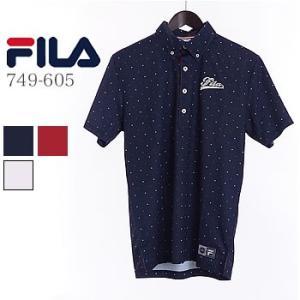フィラゴルフ FILAGOLF ドット柄半袖シャツ 749-605 2019年春夏モデル|morita-golf
