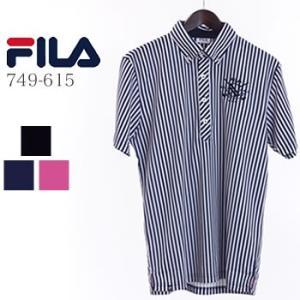 フィラゴルフ FILAGOLF ストライプ柄半袖ポロシャツ 749-615 2019年春夏モデル|morita-golf