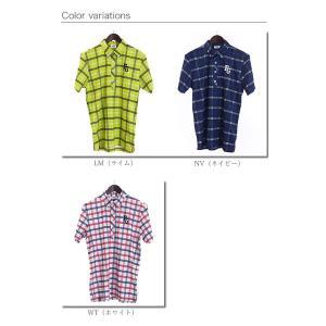 フィラゴルフ FILAGOLF チェック柄半袖ポロシャツ 749-624 2019年春夏モデル morita-golf 03