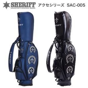 シェリフゴルフ SHERIFF アクセシリーズ コンパクトキャディバッグ SAC-005 2019年数量限定モデル|morita-golf