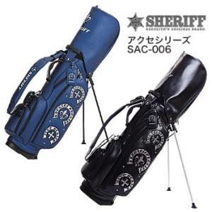 シェリフゴルフ SHERIFF アクセシリーズ スタンドキャディバッグ SAC-006 2019年数量限定モデル|morita-golf