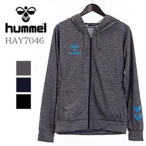 ヒュンメル hummel サマースウェットフルジップパーカー HAY7046 2019年春夏モデル|morita-golf