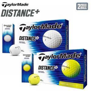 テーラーメイド TaylorMade DISTANCEプラス ゴルフボール 1ダース12個入り 2019年モデル 日本正規品|morita-golf