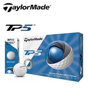 テーラーメイド TaylorMade TP5 ゴルフボール 1ダース12個入り 2019年モデル 日本正規品|morita-golf