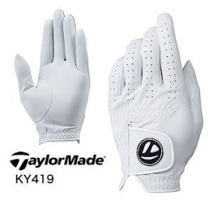テーラーメイド TaylorMade TM TP ジュニュイン レザー ゴルフグローブ KY419 2019年モデル|morita-golf