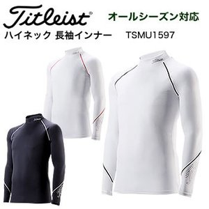 タイトリスト ハイネック インナー長袖 TSMU1597 2017年継続モデル日本正規品|morita-golf