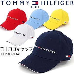 f4bea083319 トミーヒルフィガーゴルフ TOMMY HILFIGER GOLF TH ロゴキャップ THMB7DAF 2017年モデル morita- ...