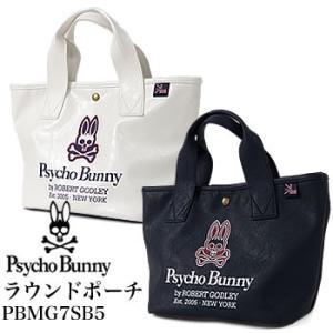 サイコバニー Psycho Bunny ラウンドポーチ PBMG7SB5 2017年モデル|morita-golf