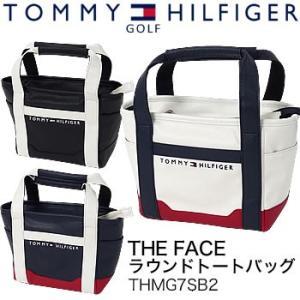 トミーヒルフィガーゴルフ TOMMY HILFIGER GOLF ザ フェイス THE FACE ラウンドトートバッグ THMG7SB2 2017年モデル|morita-golf