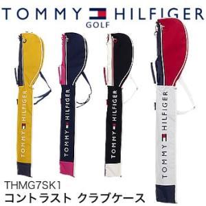 トミーヒルフィガーゴルフ TOMMY HILFIGER GOLF コントラスト クラブケース THMG7SK1 2017年モデル|morita-golf