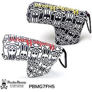 サイコバニー Psycho Bunny モノグラム パターカバー ピン型用 PBMG7FH5 2017年モデル|morita-golf