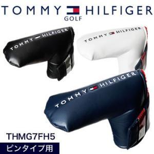 トミーヒルフィガーゴルフ TOMMY HILFIGER GOLF ベーシック パターカバー ピンタイプ THMG7FH5 2017年モデル|morita-golf