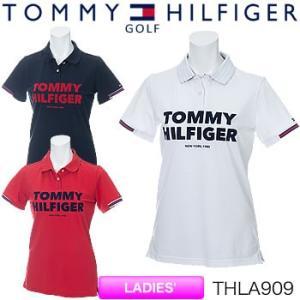 トミーヒルフィガーゴルフ TOMMY HILFIGER GOLF レディース 半袖ポロシャツ THLA909 2019年春夏モデル|morita-golf