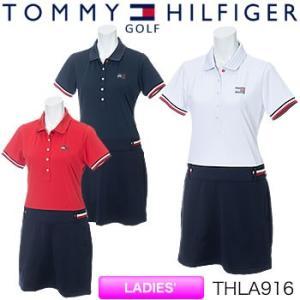 トミーヒルフィガーゴルフ TOMMY HILFIGER GOLF レディース ワンピース THLA916 2019年春夏モデル|morita-golf