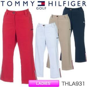 トミーヒルフィガーゴルフ TOMMY HILFIGER GOLF レディース クロップドパンツ THLA931 2019年春夏モデル|morita-golf