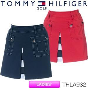 トミーヒルフィガーゴルフ TOMMY HILFIGER GOLF レディース ラップ ショートパンツ THLA932 2019年春夏モデル|morita-golf