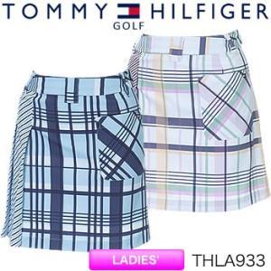 トミーヒルフィガーゴルフ TOMMY HILFIGER GOLF レディース チェックスカート THLA933 2019年春夏モデル|morita-golf