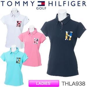 トミーヒルフィガーゴルフ TOMMY HILFIGER GOLF レディース 半袖ポロシャツ THLA938 2019年春夏モデル|morita-golf