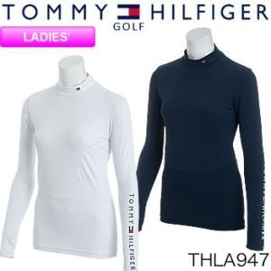 トミーヒルフィガーゴルフ TOMMY HILFIGER GOLF レディース ハイネック アンダーシャツ THLA947 2019年春夏モデル|morita-golf