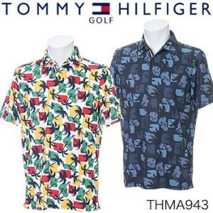 トミーヒルフィガーゴルフ TOMMY HILFIGER GOLF 半袖ポロシャツ THMA943 2019年春夏モデル|morita-golf