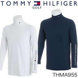 トミーヒルフィガーゴルフ TOMMY HILFIGER GOLF 長袖アンダーシャツ THMA955 2019年春夏モデル|morita-golf