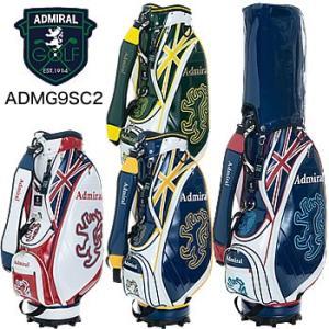 アドミラルゴルフ Admiral Golf ライトウェイト スポーツ キャディバッグ ADMG9SC2 2019年モデル|morita-golf