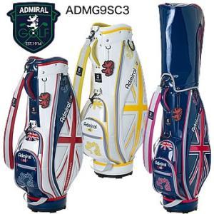 アドミラルゴルフ Admiral Golf ライトウェイト スポーツ Uni キャディバッグ ADMG9SC3 2019年モデル|morita-golf