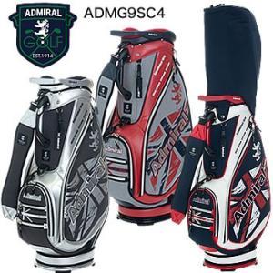 アドミラルゴルフ Admiral Golf 杢調擦れプリント キャディバッグ ADMG9SC4 2019年モデル|morita-golf
