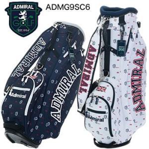 アドミラルゴルフ Admiral Golf モノグラム スタンドキャディバッグ ADMG9SC6 2019年モデル|morita-golf