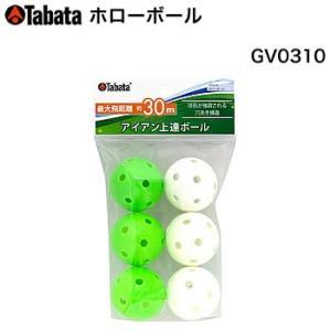タバタ Tabata タバタ ホローボール 6個入り GV-0310 morita-golf