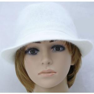フリーサイズ/アンゴラ混、中折/130-581b-001 おばあちゃんのお出かけ用帽子  おしゃれな おばあちゃん用帽子/ 敬老の日、母の日にも