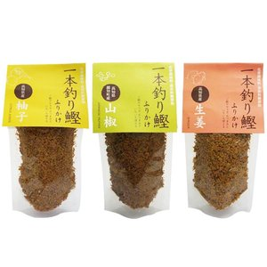 一本釣り鰹ふりかけ 70g   柚子   山椒   生姜   ソフトタイプ   鰹ご飯   フリカケ   土佐   高知|moritokuzo