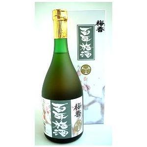 梅香 百年梅酒 720ml       明利酒類  茨城県水戸市