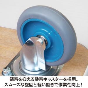 すべり止め付き合板台車 SF-E001 900×600|moriya-honpo|03