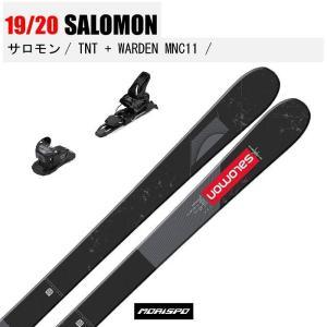 SALOMON サロモン TNT + 20 SALOMON WARDEN MNC 11 90mm テ...