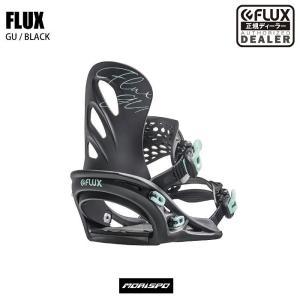 FLUX フラックス GU ジーユー BK 19-20 ビンディング フリースタイル 2020モデル