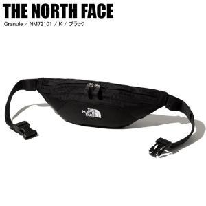 THE NORTH FACE ノースフェイス Granule グラニュール NM72101 K ブラック ボディバッグ ウェストポーチの画像