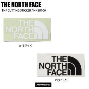 THE NORTH FACE ノースフェイス NN88106 TNFカッティングステッカー [モリスポ] 19-20 ステッカー