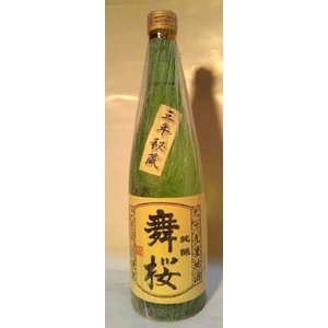 千葉の酒 舞桜 こだわり純米 15度1800ml|moriyasyuzo