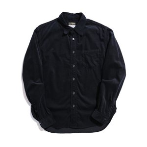 COLIMBO/コリンボ WILLOWBROOK L/S SHIRT ブラック|morleyclothing